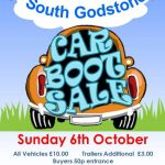 6th October 2019 - Fundraising Car Boot Sale - RSPCA South Godstone